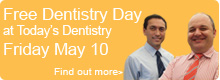Free Dentistry Day on May 10, 2013