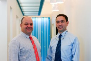 Dr David Kerr and Darryl Marsh discuss the cosmetic dentistry options