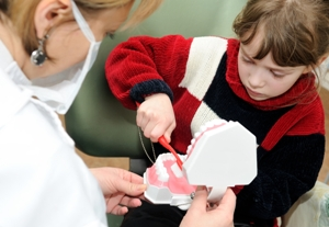 Dental anxiety can start at an early age